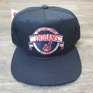 1990s Deadstock Cleveland Indians snapback